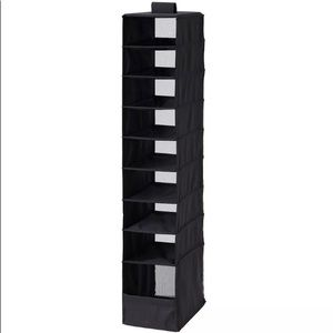 IKEA SKUBB Organizer with 9 compartments, black.